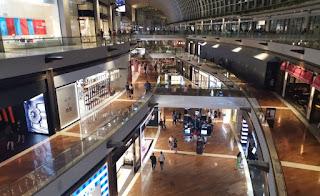 Centro comercial del Hotel Marina Bay Sands.