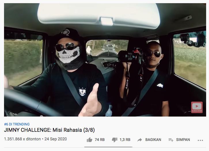 Jimny Challenge Trending Youtube 6
