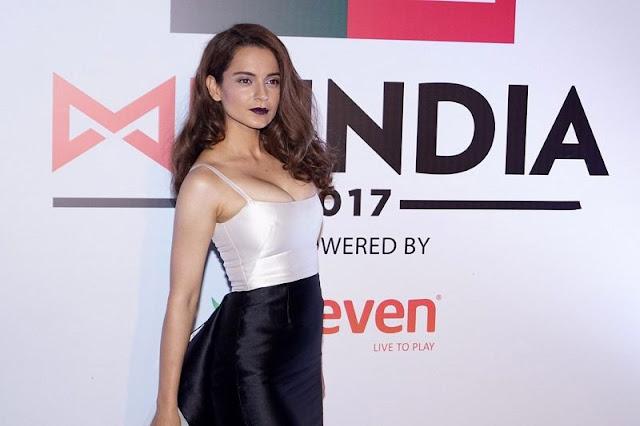 Kangana Ranaut at Mr. India 2017