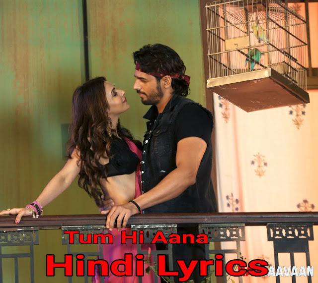 Tum Hi Aana Hindi Lyrics
