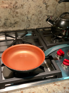 Copper Pots are the best for cooking eggs