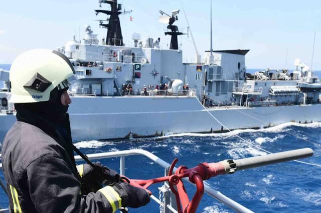 Marina Militare esercitazione Mare Aperto