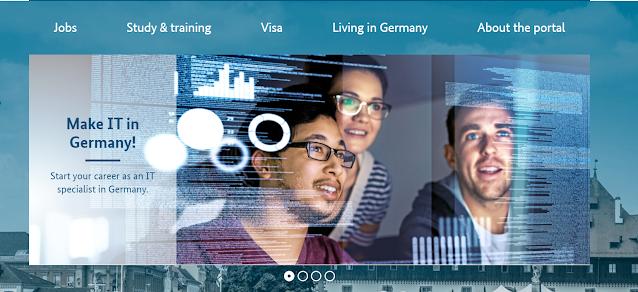 طرق العمل و الهجرة إلى ألمانيا 2021