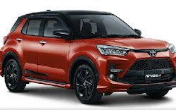 Spesifikasi dan Harga Toyota Raize 2021