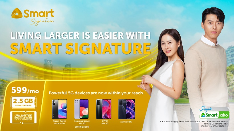 Smart launches Signature Plan Lite at only P599 per month