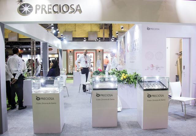 Preciosa Stall at IIFJAS Exhibition, Mumbai