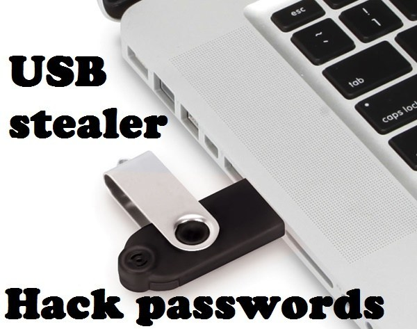 USB Stealer - Password Hacking Tool For Windows Applications
