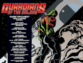 Guardians of the Galaxy Infinite Comics #1, Drax