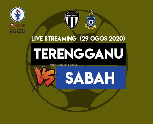 Live Streaming Terengganu vs Sabah Liga Super 29.8.2020