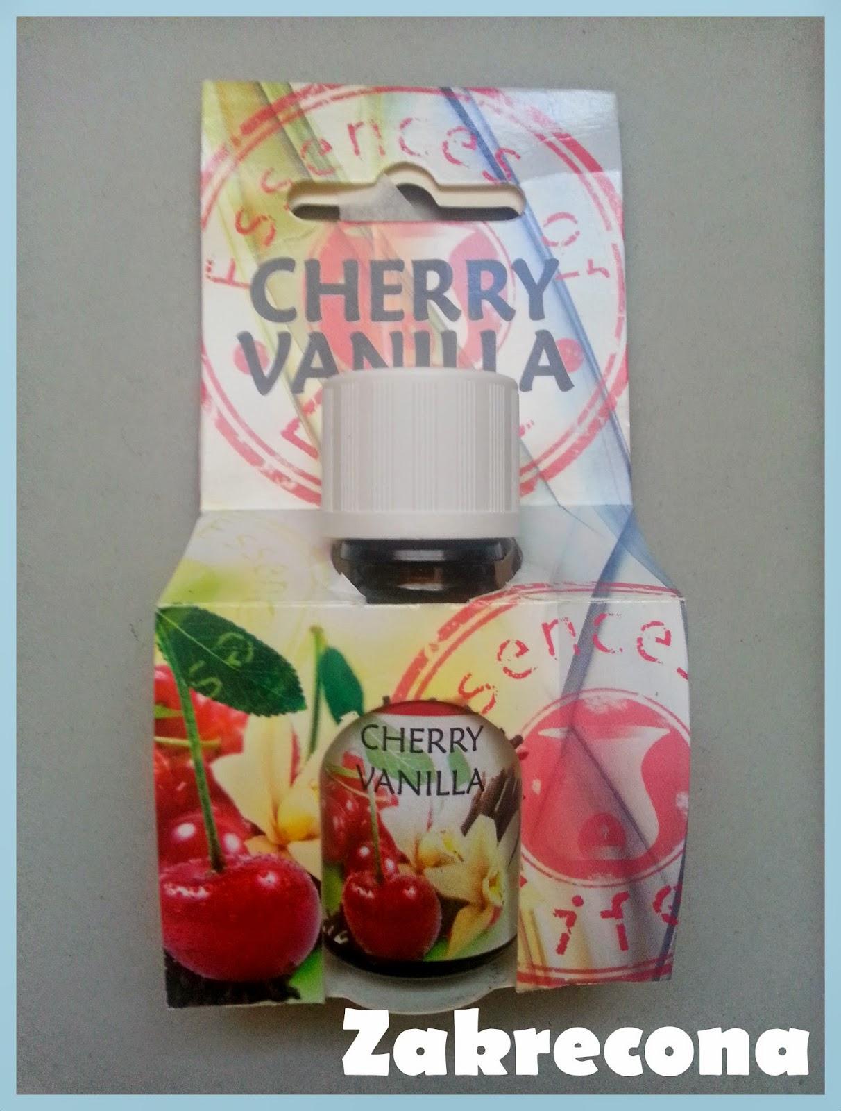 Olejek cherry vanilla od Essences of life na jesienne dni