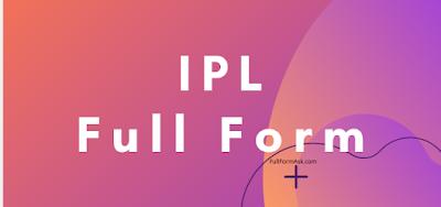 IPL full meaning
