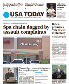 Read Online USA Today Magazine 22 September 2021 Hear And More USA Today News And USA Today Magazine Pdf Download On Website.