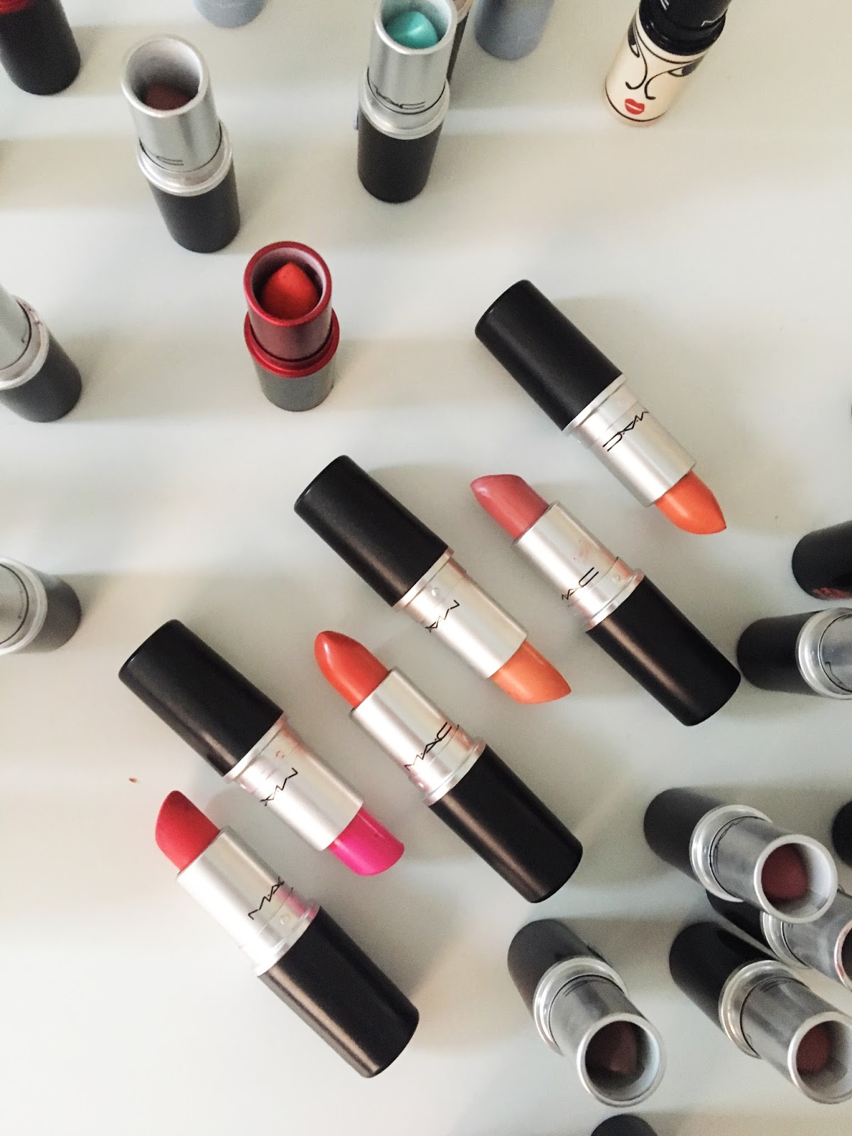 Pink mac lipsticks