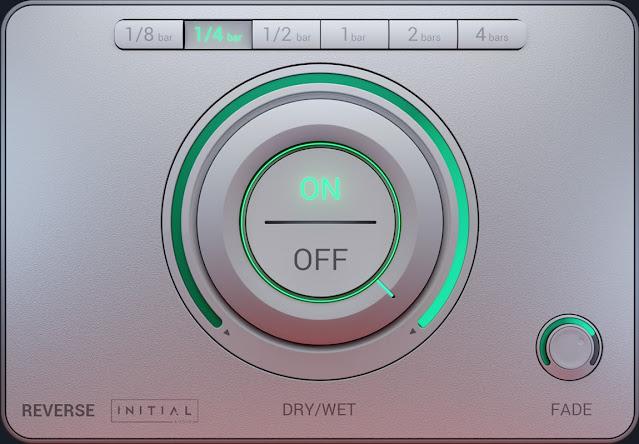 Interface do Plugin Initial Audio - Reverse