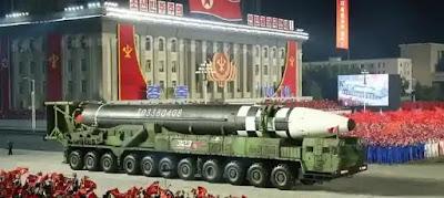 كوريا الشمالية تكشف عن صاروخها المخيف