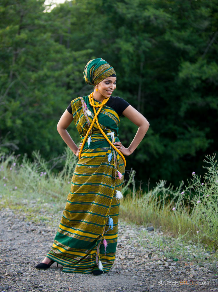 Portraits in African Ethnic Clothes - SudeepStudio.com