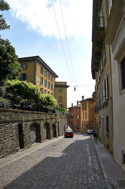 Włoskie miasteczko Bergamo na jeden dzień