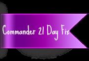 Commander 21 Day Fix version Deluxe