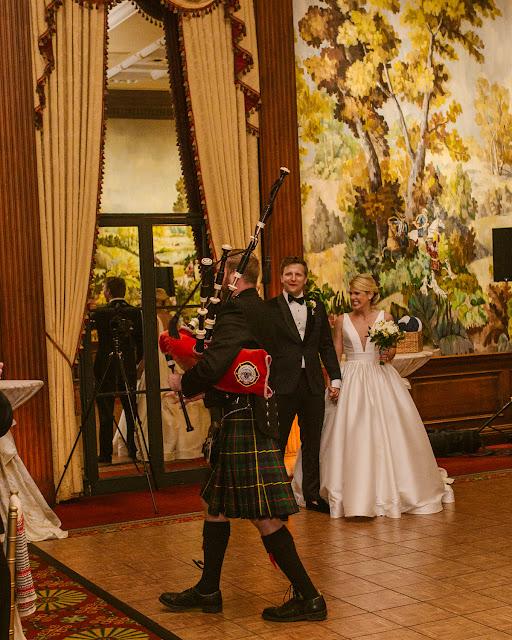 pittsburgh wedding bagpiper