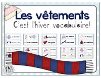 https://www.teacherspayteachers.com/Product/French-Winter-Clothing-Vocabulary-2279357