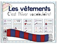 https://www.teacherspayteachers.com/Product/French-Winter-Clothing-Vocabulary-2279357