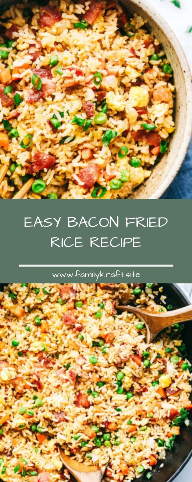 EASY BACON FRIED RICE RECIPE