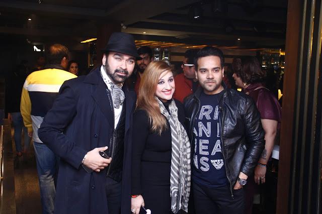 Designer Amit Talwar Trekkaya, Neha and Prince Karwal