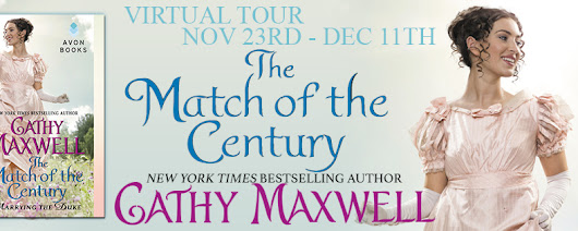 Blog Tour: The Match of the Century by Cathy Maxwell; Review + Giveaway