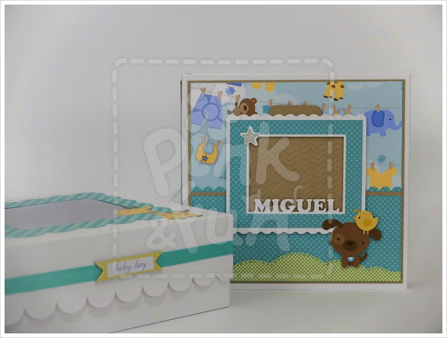 scrapbooking em portugues - mini album