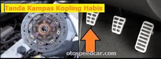 Tanda Kampas Kopling Mobil Habis