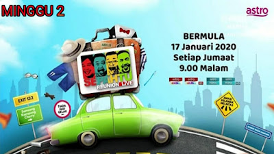 Live Streaming Sepahtu Reunion Live 2020 Minggu 2