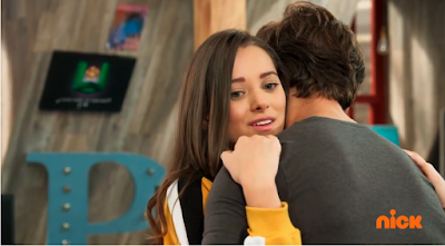 Noobees2: Foto aonde Silvia abraça Davi após pesadelo