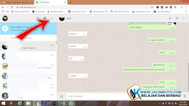 Berikut ini Cara Mengganti Warna Background Chat Whatsapp Web, semoga bermanfaat.