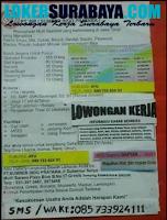 Bursa Kerja Surabaya di PT. Sumber Indo Pratama (SIP) Juni 2020