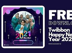 Download Twibbon Bingkai Foto Selamat Tahun Baru 2021
