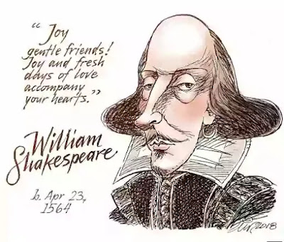 Shakespeare wrote tragedies, comedies and history plays.
