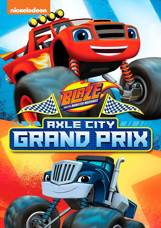 Blaze And The Monster Machines Deep Sea Grand Prix : blaze, monster, machines, grand, NickALive!:, Nickelodeon, Release, 'Blaze, Monster, Machines:, Grand, Prix', February