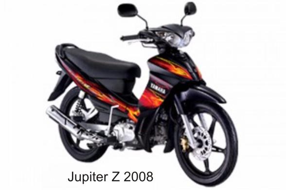 Jupiter z 2008 harga