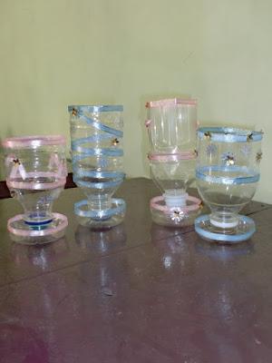 Kerajinan tangan dari botol aqua mudah