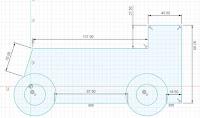Sketch Forklift Body