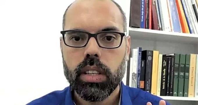 """Allan dos Santos relata como foi ação da PF: """"Pistolas na minha cara e na minha esposa grávida"""""""