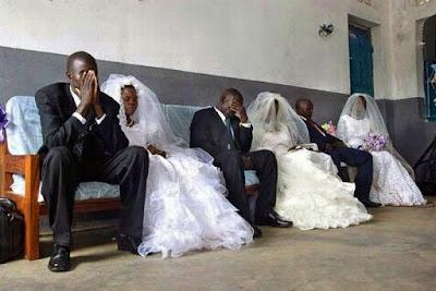 Motivierende Bilder Ehe Hochzeit lustig - witzige Streßbilder