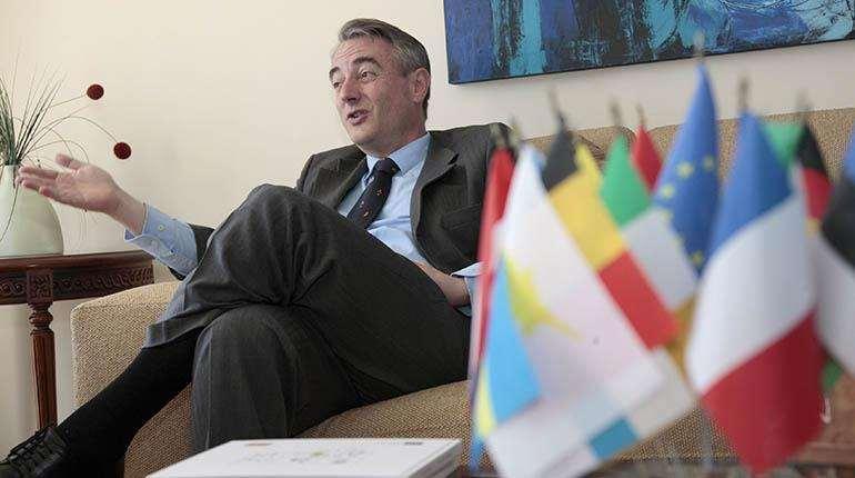 De la Torre fue embajador en Bolivia desde 2016 hasta 2020 / ARCHIVOS WEB