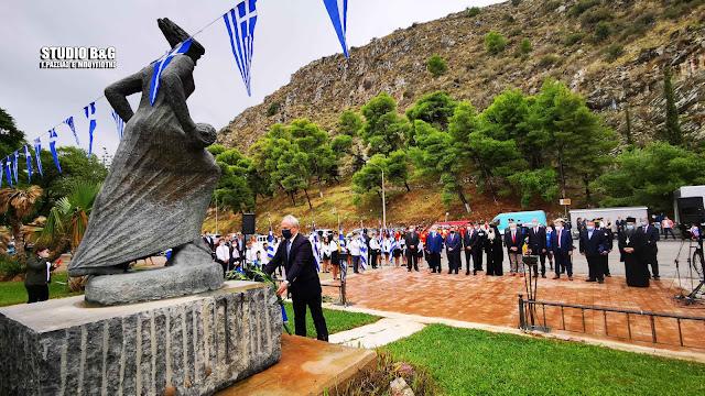 Ανδριανός: Το μήνυμα του '40 μάς καλεί να αντιμετωπίσουμε με δυναμισμό και σύνεση κάθε εξωγενή πρόκληση και επιθετικότητα