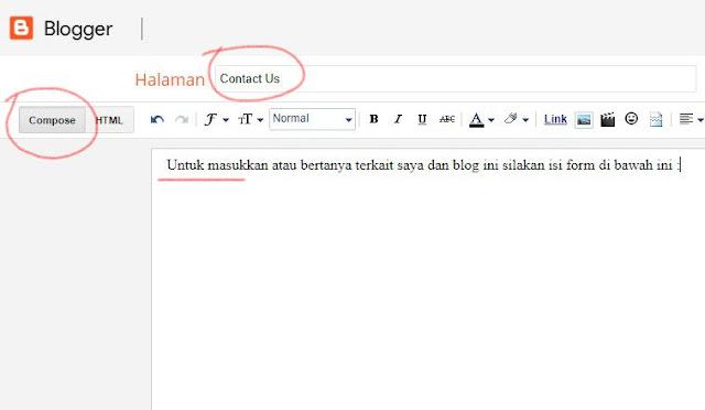 halaman contact us