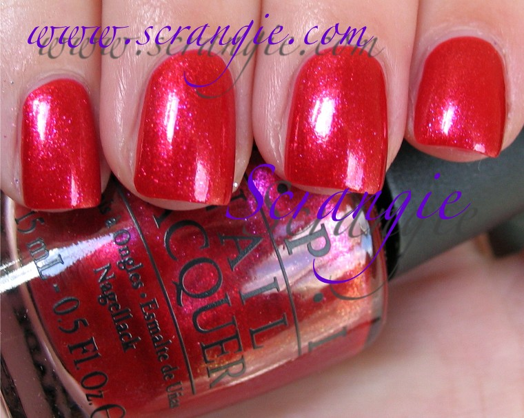 Scrangie Opi The Muppets Collection Holiday 2011 Swatches
