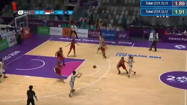 Live Streaming List: Indonesia vs Mongolia ASIAD 2018 Basketball (Women) Match