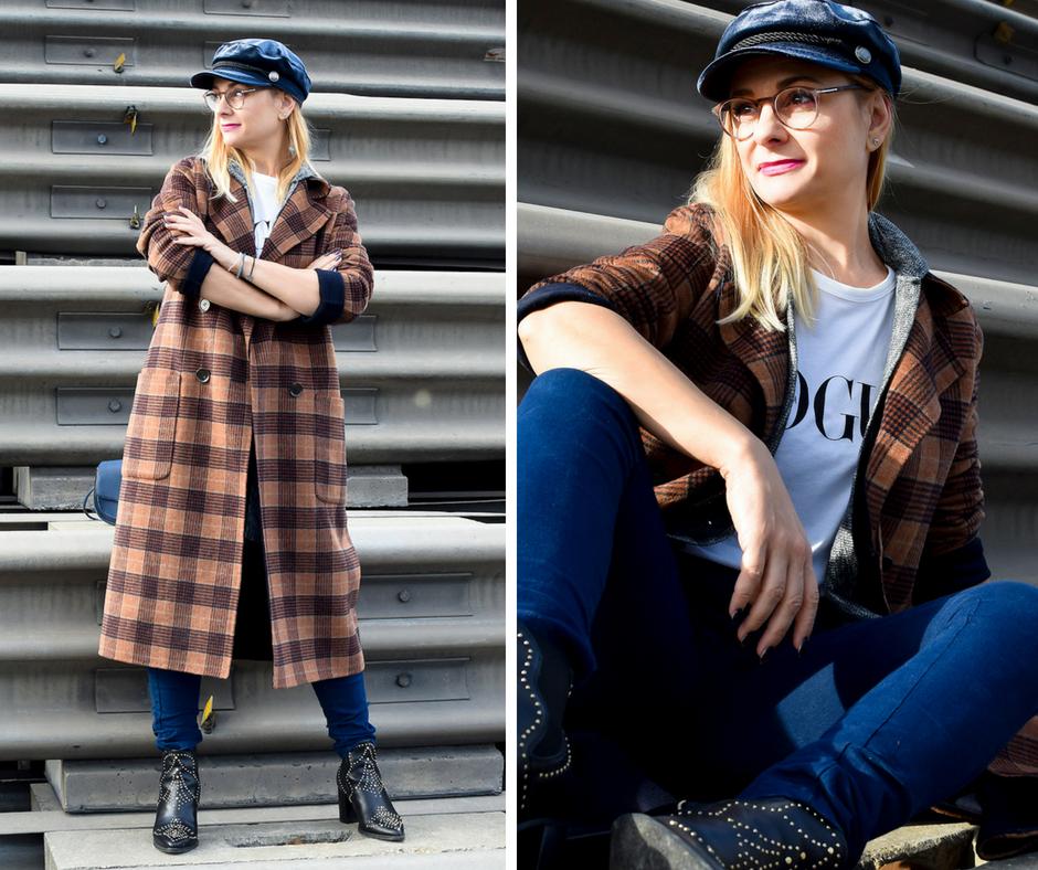 so stylst Du den karo Trend, Herbst 2018, Modeblog für Frauen ab 40