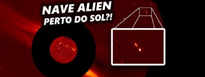 objeto incomum faz encontro com o sol - cometa triplo