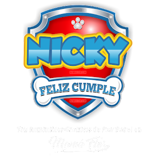 Logo de Paw Patrol: Nicky